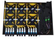 普天1U72芯自带跳线高密度光纤配线架成功应用于电力行业